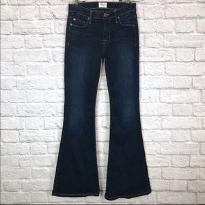 Hudson Mia 5 Pkt Mid-rise Flare Jeans EUC - Y016